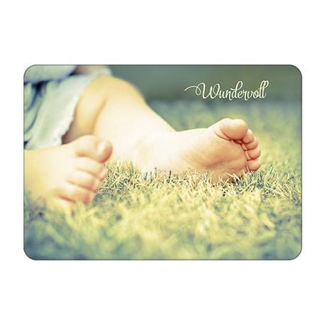 Postkarte - Wundervoll