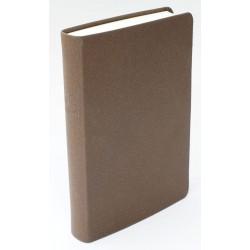 Taschenbibel, größere Ausgabe, Bonded-Leather, grau-braun
