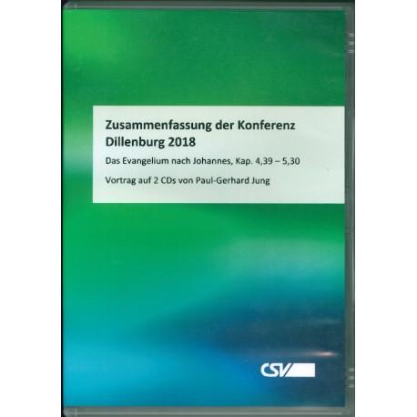 Konferenzzusammenfassung Dillenburg 2018 - CD