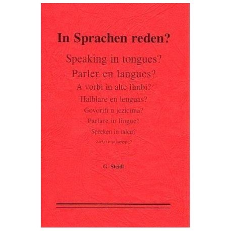 In Sprachen reden?