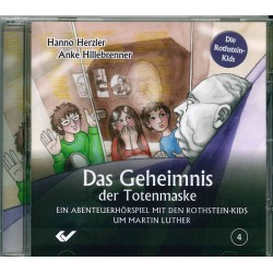 Das Geheimnis der Totenmaske - Hörspiel CD