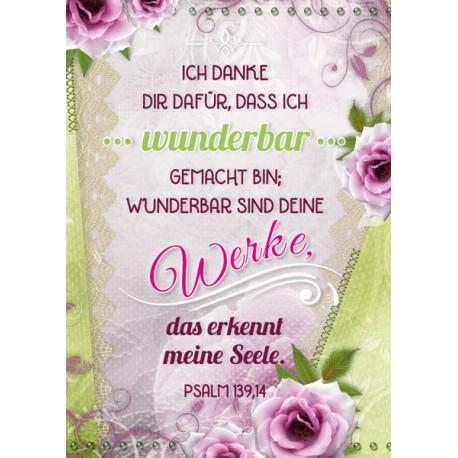Postkarte - Wunderbar