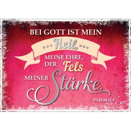 Postkarte - Bei Gott ist mein Heil