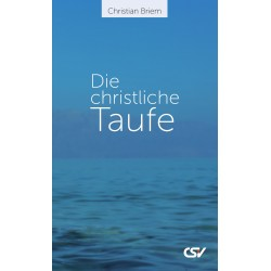Die christliche Taufe (E-Book)