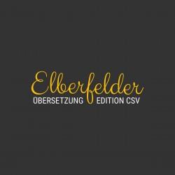 Elberfelder Übersetzung auf csv-bibel.de (Online-Bibel)