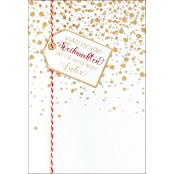 Faltkarte Weihnachten/Neu Jahr - Wunderschöne Weihnachten