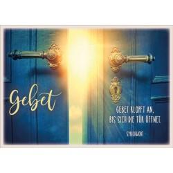 Postkarte - Gebet