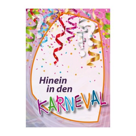 Hinein in den Karneval?!