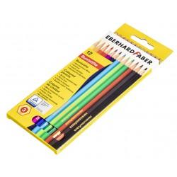 Buntstifte Eberhard Faber 12  farbsortiert
