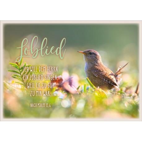 Postkarte - Loblied