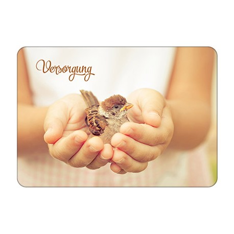 Postkarte - Versorgung