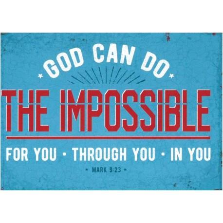 Postkarte - The impossible