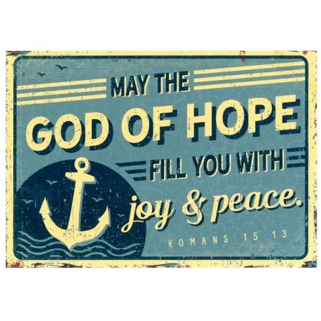 Postkarte - God of hope