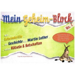 Mein Geheimblock Martin Luther