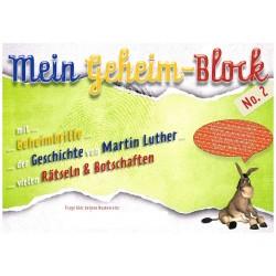 Mein Geheimblock Martin Luther