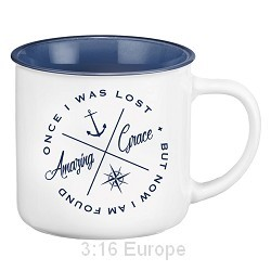 Tasse: Amazing grace - once i was lost