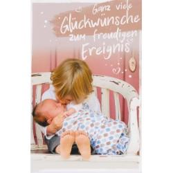 Faltkarte zur Geburt - Großer Bruder