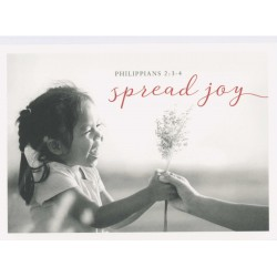 Postkarte - Spread joy