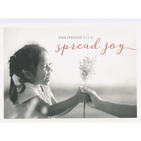 Postkarte - Spread joy
