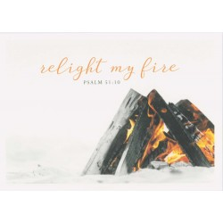 Postkarte - Relight my fire