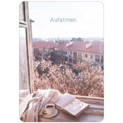 Postkarte - Aufatmen