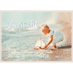 Postkarte - Zuversicht Mädchen
