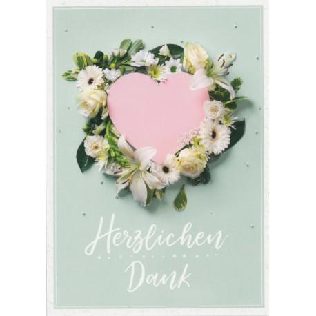 Postkarte - Herzlichen Dank