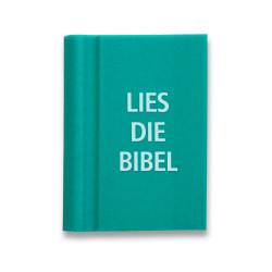 """Radierer Buch """"Lies die Bibel"""" grün"""