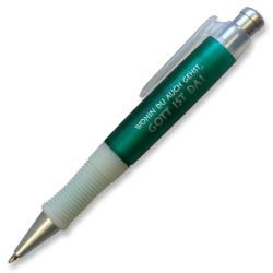 "Kugelschreiber ""Wohin du auch gehst ..."" grün"