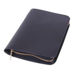 Bibelhülle, Kunstleder, Nappa-Soft, schwarz für Schreibrandbibel