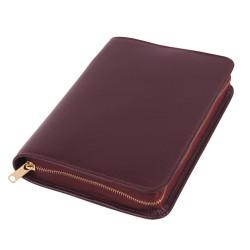 Bibelhülle, Smart, weinrot für Taschenbibel (kleinere Ausgabe)