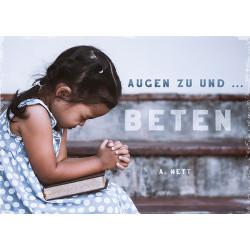 Postkarte - Beten