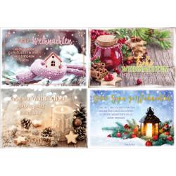 Mini-Spruchkarten Weihnachten 20