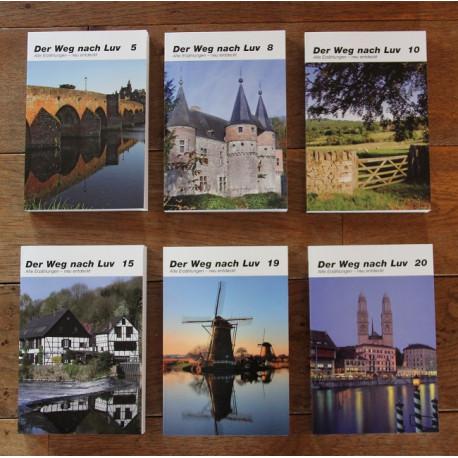 """Buchpaket """"Der WEg nach Luv"""" (6 ausgewählte Bände)"""