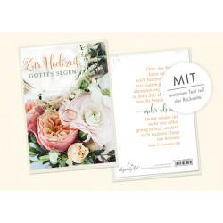 Faltkarte zur Hochzeit - Reich beschenken
