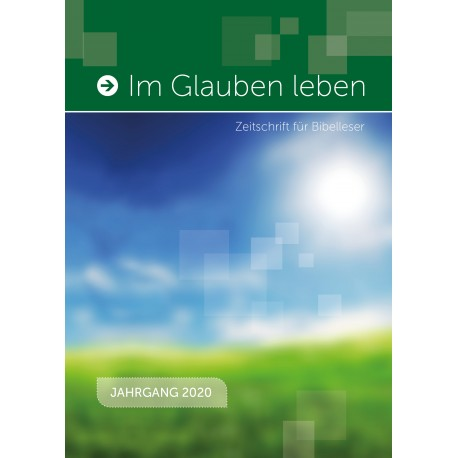 Jahrbuch 2020 - Im Glauben leben