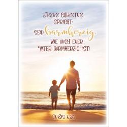 Postkarte - Vater & Sohn