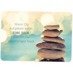 Postkarte - Denk dran
