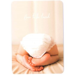 Postkarte - Born to be loved