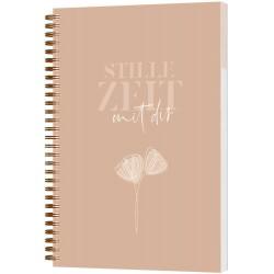 Stille Zeit mit Dir - Notizbuch Motiv Line Art
