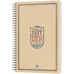 Stille Zeit mit Dir - Notizbuch Motiv Wappen
