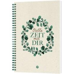 Stille Zeit mit Dir - Notizbuch Motiv Eukalyptus