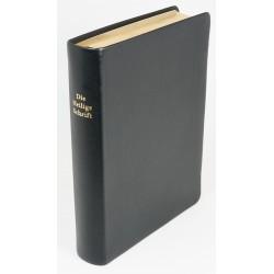 Schreibrandbibel, kleinere Ausgabe, Kalbsleder, Goldschnitt