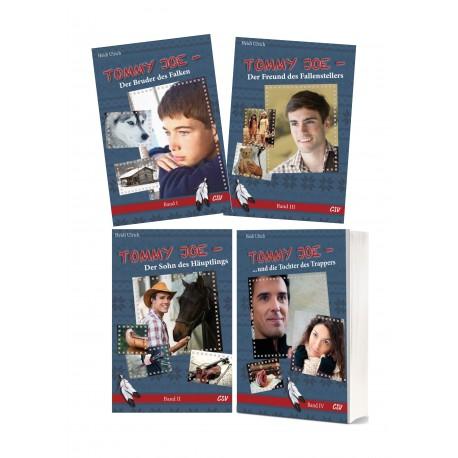 """Buchpaket """"Tommy Joe Band 1-4"""
