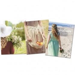 Buchpaket: Freude, Vertrauen, Zufriedenheit