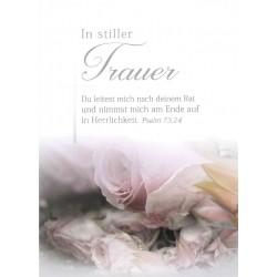 Faltkarte zu Trauer - Ps.73,24