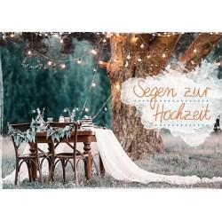 Faltkarte zur Hochzeit - Unter dem Baum