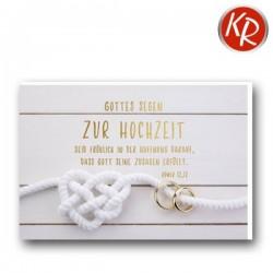 Faltkarte Hochzeit - Fröhlich in der Hoffnung