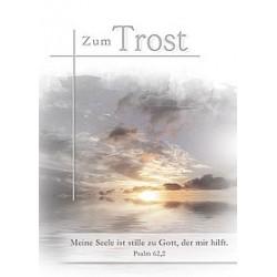 Faltkarte Trauer - Psalm 62,2
