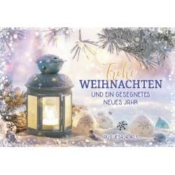 Minikarten Weihnachten - Neujahr